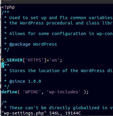 SSL für WordPress hinter reverse Proxy