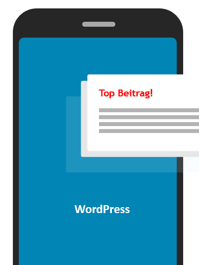Wordpress Beitrag oben halten